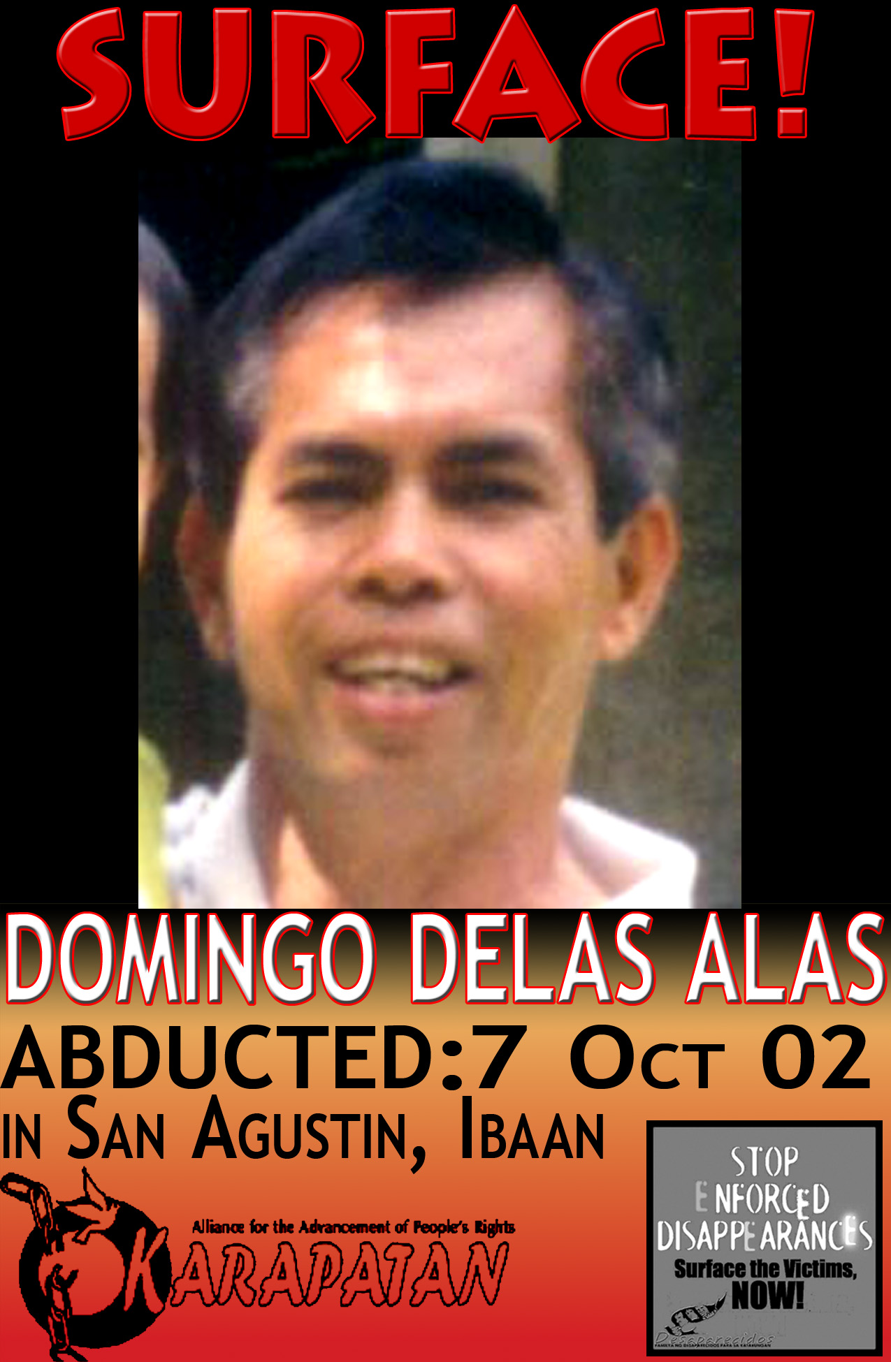 Photo of Domingo Delas Alas
