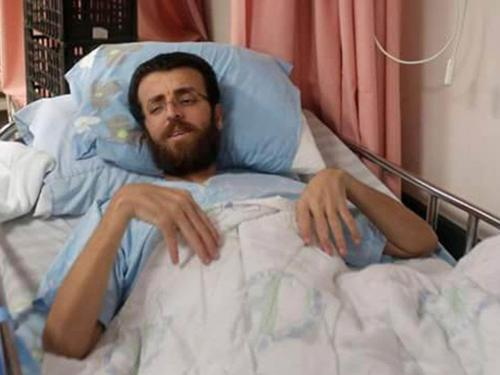 Mohammed al Qeeq on hunger strike